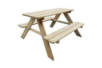 Casasmart Table de pique-nique pour enfants 89 x 89,6 x 50,8cm pinède fsc - cs2743071