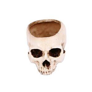Generic Halloween creux taro horreur flowerpot cendrier résine simulation crâne décoration mobilier de jardin 1432