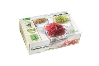 Germline Coffret cadeau Germoir + graines + livre