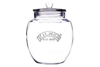 Kilner Bocal en verre avec couvercle hermétique universal - 4l