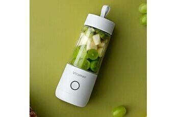 Generic Mélangeur de fruits de ménage de presse-fruits portable 350ml machine de mélange de fruits tool4076