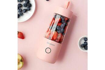 Generic Mélangeur de fruits de ménage de presse-fruits portable 350ml machine de mélange de fruits tool4077