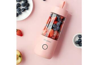 Generic Mixer 350ml fruit machine de mélange juicer blender portable fruits maison 41