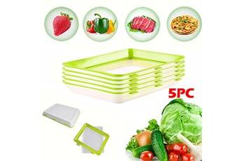 5pc protection de l'environnement protection contre la pollution bac de conservation des aliments sous vide