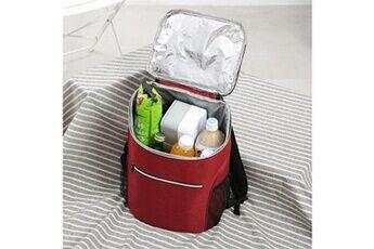 Generic Boîte à lunch sac fourre-tout chaud à froid isolé travail cooler thermique voyage école de pique-nique 70