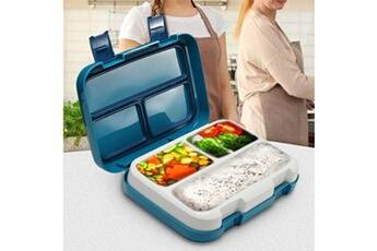 Generic Préparation plastique alimentaire conteneurs de stockage boîte à lunch compartiment multi-grids 5345
