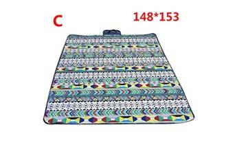 Generic Couverture de pique-nique extérieure imperméable tapis de camping pliant tapis de plage de voyage accessoire de cuisine 6440
