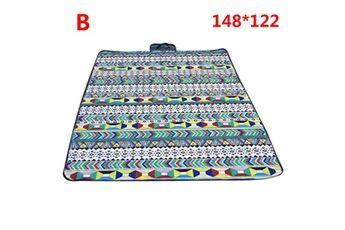 Generic Couverture de pique-nique extérieure imperméable tapis de camping pliant tapis de plage de voyage accessoire de cuisine 6439