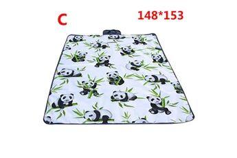 Generic Couverture de pique-nique extérieure imperméable tapis de camping pliant tapis de plage de voyage accessoire de cuisine 6420