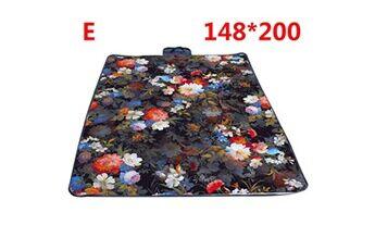 Generic Couverture de pique-nique extérieure imperméable tapis de camping pliant tapis de plage de voyage vinwo251