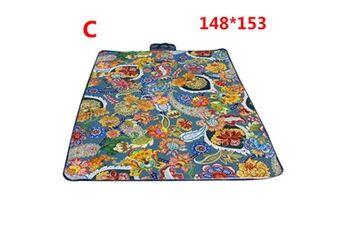 Generic Couverture de pique-nique extérieure imperméable tapis de camping pliant tapis de plage de voyage accessoire de cuisine 6457