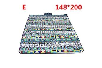 Generic Couverture de pique-nique extérieure imperméable tapis de camping pliant tapis de plage de voyage accessoire de cuisine 6442