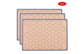 Tapis de cuisson en silicone macaron - doublure en silicone pour feuille de cuisson