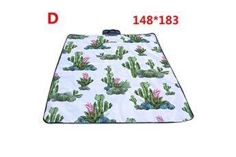 Generic Couverture de pique-nique extérieure imperméable tapis de camping pliant tapis de plage de voyage vinwo383