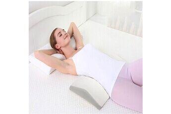Generic Rebond lent mousse à mémoire coussin lombaire home bed back support pour femme enceinte 2902