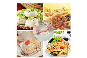Generic Pâte silicone pâte ménage ménage grade outil à découper cuisson alimentaire panneau tapis tapis accessoire de cuisine 5651