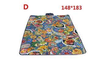 Generic Couverture de pique-nique extérieure imperméable tapis de camping pliant tapis de plage de voyage accessoire de cuisine 6458