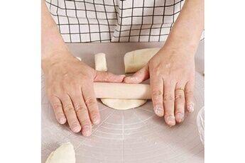 Generic Pâte silicone pâte de ménage tapis de qualité hacher outil panneau alimentaire de cuisson mat pad 4547