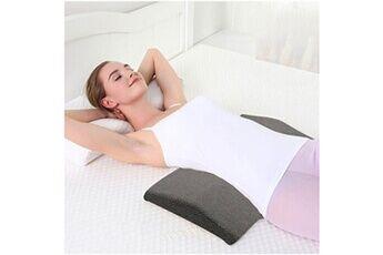 Generic Rebond lent mousse à mémoire coussin lombaire home bed back support pour femme enceinte 2903