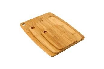 No-name Contemporain planches à découper en bambou - lot de 3