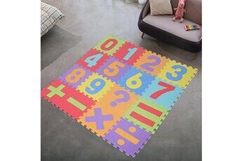 Generic 16pcs digital eva floor game pad puzzle de bulle de chambre de bébé accessoire de cuisine 3036