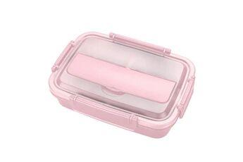 Generic Conteneur isotherme de nourriture de bento de boîte à lunch d'acier inoxydable pour des femmes d'enfants tool4917