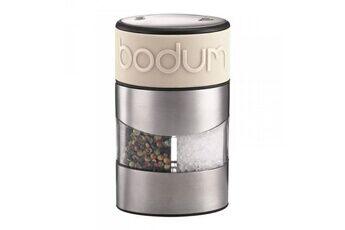 Bodum Combi moulin à poivre et sel 11,2cm chrome/crème - bodum - 11002-913