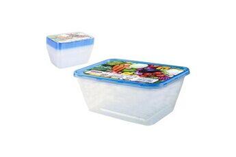 Icaverne Superbe ensemble de 8 boîtes à lunch privilege 1l