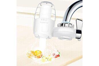Filtre à eau du robinet pour évier de cuisine ou purificateur de robinet de filtration monté sur salle de bain