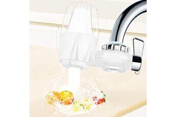 Generic Filtre à eau de robinet pour évier de cuisine ou purificateur de robinet de filtration à montage sur salle de bain tool5985