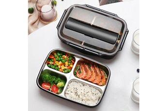 Generic Conteneur isotherme de nourriture de bento de boîte à lunch d'acier inoxydable pour des femmes d'enfants tool5591
