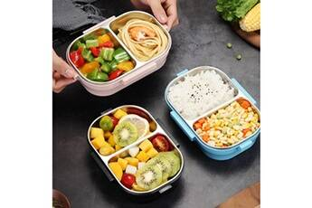 Generic Boîte à lunch pour enfants adultes - matériaux durables, résistants aux fuites et sans danger pour les aliments vinwo770