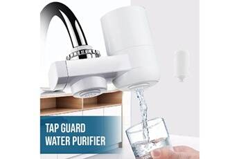 Generic Filtre à eau de robinet pour évier de cuisine ou purificateur de robinet de filtration à montage sur salle de bain tool5952