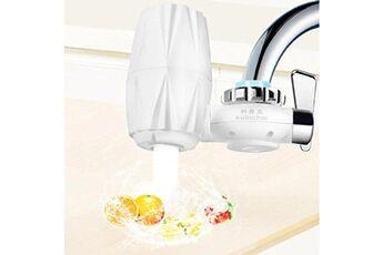 Generic Filtre à eau de robinet pour évier de cuisine ou purificateur de robinet de filtration à montage sur salle de bain tool5984