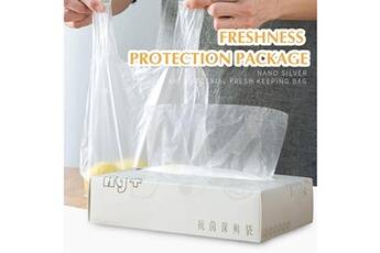 200pcs sac de conservation des aliments de cuisine sac de préservation de la santé des ménages portable