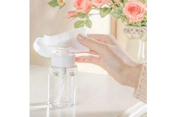 Generic 10pcs bouteilles de voyage en plastique transparent démaquillant polonais bouteille vide 100ml vinwo608