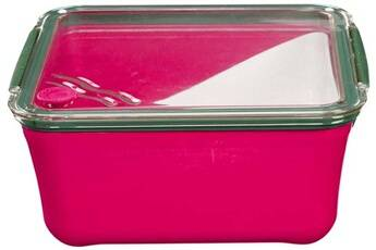 Take Away Grande lunch box avec compartiment amovible rose