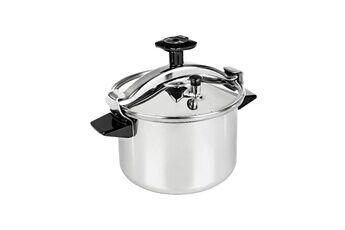 Seb Cocotte cuiseur autocuiseur 4,5l inox panier vapeur système securivis poignées bakélite  livre de recette inclus p0530600