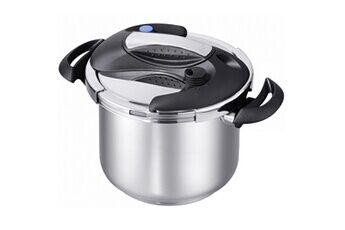 Kitchen Move Autocuiseur cocotte minute à mâchoire ouverture facile avec une main ø22cm 7.5l speed cook en acier inox