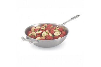 Pujadas Wok de service avec manche miramar® cookware ø 30,2 cm - pujadas -    30,2 cm      aluminium/inox                             490 cl