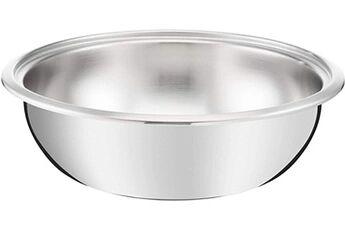 Lagostina - 12143041824 - maestria poêle wok 24 cm inox tous feux dont induction (vendue sans poignée)