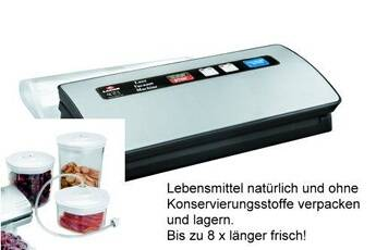 Lacor Machine sous-vide luxe 120w