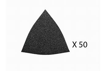 Fein Jeu de 50 triangles abrasifs perforés Grain 220 FEIN 63717115013