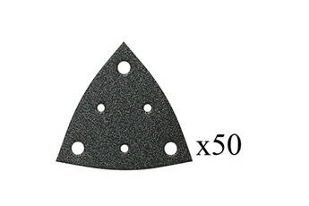 Fein Jeu de 50 triangles abrasifs perforés grain 120 fein 63717112017