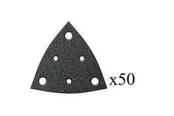 Fein Jeu de 50 triangles abrasifs perforés grain 80 fein 637110043
