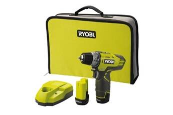 Ryobi - perceuse visseuse compacte 12 v lithium-ion 2 vitesses 2 batteries lithium+ r12dd-ll13s
