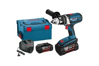 Bosch - perceuse visseuse 36v li-ion (2x2ah) 100nm + coffret lboxx - gsr 36 ve-2-li