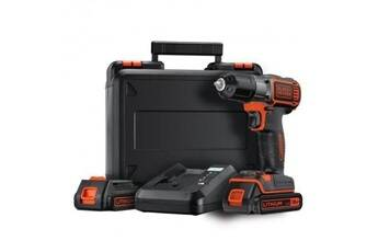 Black & Decker Black&decker perceuse visseuse autosense 2x18v lithium