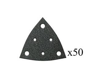 Fein Jeu de 50 triangles abrasifs perforés grain 40 fein 63717108019