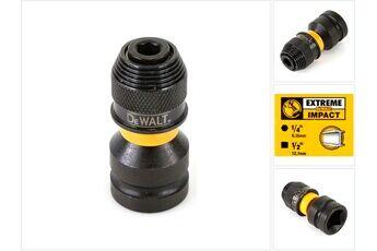De Walt Dewalt dt 7508 extreme impact adaptateur mandrin pour transformer une boulonneuse à chocs en visseuses à chocs 1/2'' vers 1/4'' hex